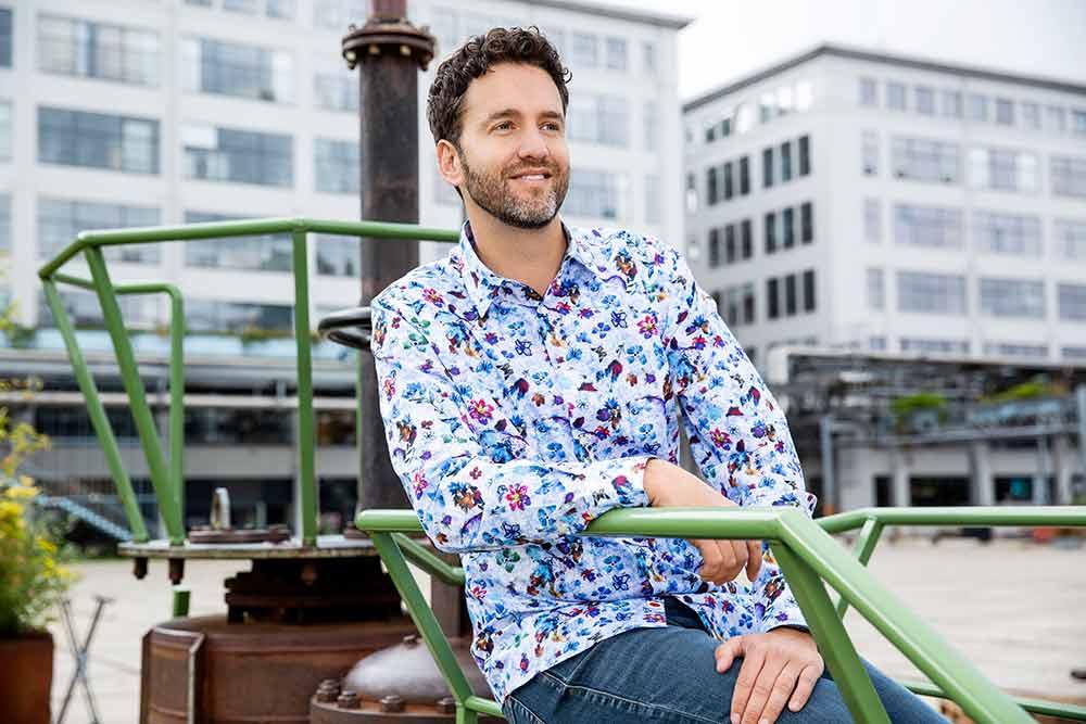 Mix & match hippe heren overhemden voor Bohemian look