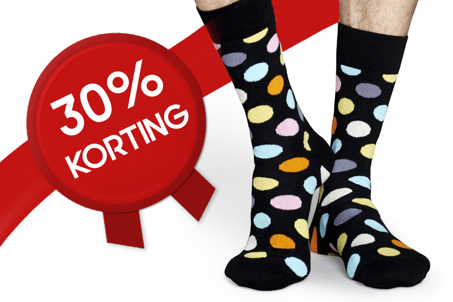 korting happy socks