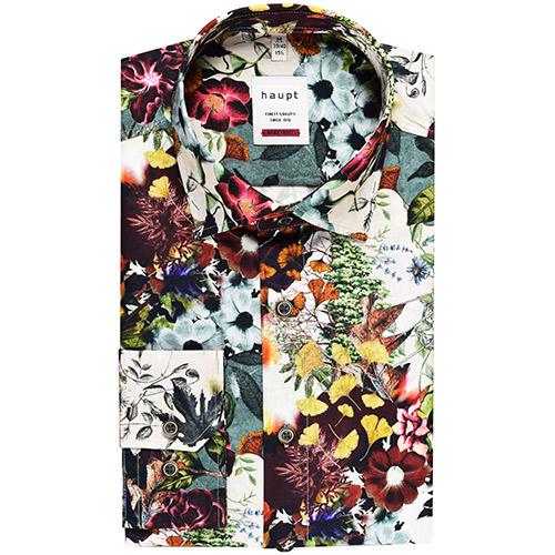 Heren Overhemd Bloemenprint