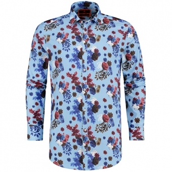 bloemenprint shirt bb chum