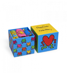 Happy Socks Keith Haring Giftbox
