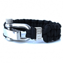steel cord black shackle