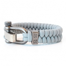 steel cord steel grey sharckle