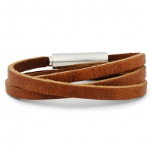 Trendy armband Wrapper brown
